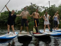 Manaus paddle board spot in Brazil