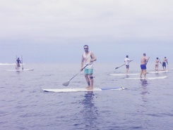 Jardim do Mar paddle board spot in Portugal