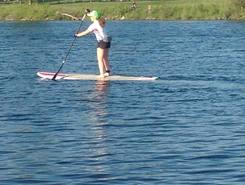 Welland Canal  paddle board spot in Canada