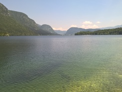 Lake Bohinj, Camp Zlatorog spot de stand up paddle en Slovénie