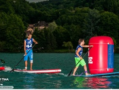lac d'annecy paddle board spot in France