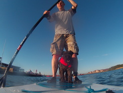 Southport marine lake sitio de stand up paddle / paddle surf en Reino Unido