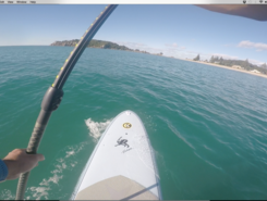 Mauao paddle board spot in New Zealand