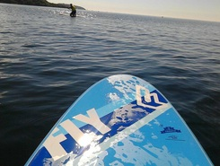Gylly sitio de stand up paddle / paddle surf en Reino Unido