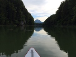 Lac de Montsalvens paddle board spot in Switzerland