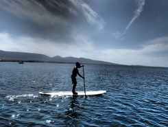 Votsalakia Piraeus Greece paddle board spot in Greece