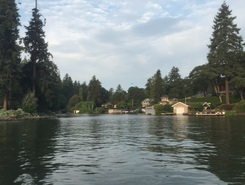 Oswego Lake paddle board spot in United States