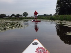 Abcoude paddle board spot in Netherlands
