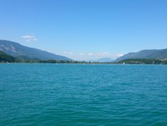 lac du Bourget paddle board spot in France