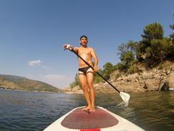 Chapuzón - El Burguillo paddle board spot in Spain
