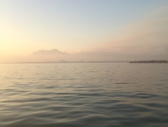 GORDONS BAY paddle board spot in South Africa