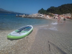 Ksamil paddle board spot in Albania