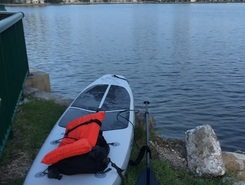 Little Maule Lake paddle board spot in United States