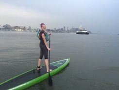 Hudson River - Pier 40 paddle board spot in United States