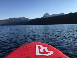Redfish Lake paddle board spot in United States