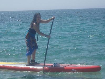Lagon du Letty spot de stand up paddle en France
