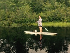 Upper sun cook paddle board spot in United States