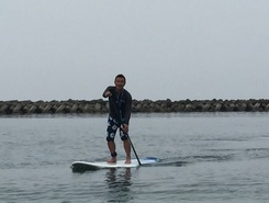 五色浜 paddle board spot in Japan