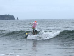 Hebara paddle board spot in Japan