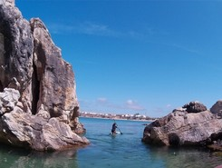 Cantinho da Baia (Baleal) sitio de stand up paddle / paddle surf en Portugal
