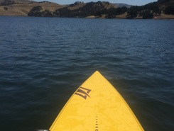 Del Valle Lake spot de stand up paddle en États-Unis