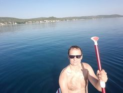 Biograd na moru to Kozarica sitio de stand up paddle / paddle surf en Croacia