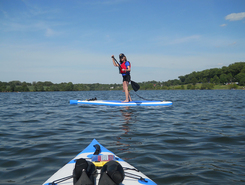 Marsh Creek State Park paddle board spot in United States
