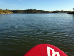 Barragem do Ciborro paddle board spot in Portugal