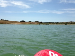Monte da Parreira paddle board spot in Portugal