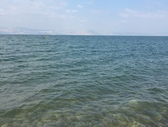 Kinneret  paddle board spot in Israel
