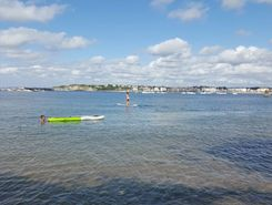plage socoa sitio de stand up paddle / paddle surf en Francia