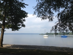 Herrsching - Ammersee sitio de stand up paddle / paddle surf en Alemania