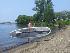 Maibara north paddle board spot in Japan