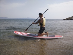 San Marti d'Empuries - Escala paddle board spot in Spain