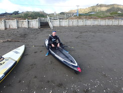 mana paddle board spot in New Zealand