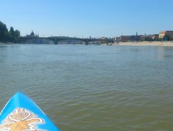 Nagyduna paddle board spot in Hungary