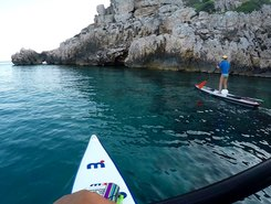 Sant' Antioco spot de stand up paddle en Italie