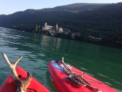 lac du Bourget sitio de stand up paddle / paddle surf en Francia