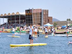 Row Center Marathwnas spot de stand up paddle en Grèce
