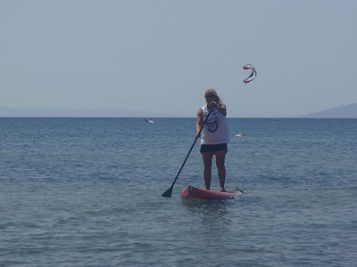 Nissakia Loutsa paddle board spot in Greece