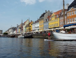 Copenhagen City spot de stand up paddle en Danemark