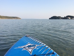 Gonar - Island Rab - Croatia sitio de stand up paddle / paddle surf en Croacia