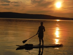 Lac Témiscamingue sitio de stand up paddle / paddle surf en Canadá