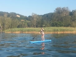 cheyres  paddle board spot in Switzerland