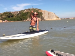 Down Wind Foz a Foz spot de stand up paddle en Brésil