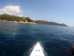 Cava Usai paddle board spot in Italy