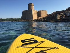 Le Castella  sitio de stand up paddle / paddle surf en Italia