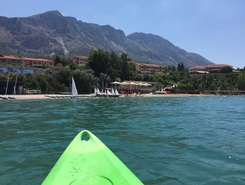 Vounaki paddle board spot in Greece