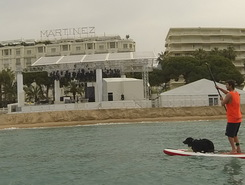 La Croisette - Cannes paddle board spot in France