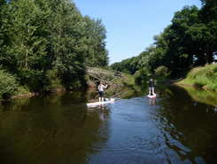 River Ems sitio de stand up paddle / paddle surf en Alemania